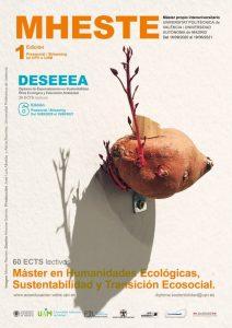 Máster en Humanidades Ecológicas, Sustentabilidad y Transición Ecosocial. MHESTE. @ Universidad Autónoma de Madrid y Universidad Politécnica de Valencia